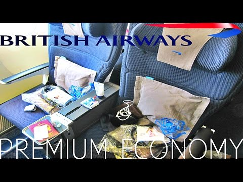 British Airways NEW PREMIUM ECONOMY TRIP REPORT Shanghai to London BA168   Boeing 777 300ER