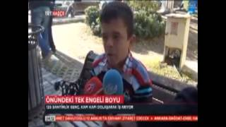 Soma'da 125 cm gençin iş isyanı