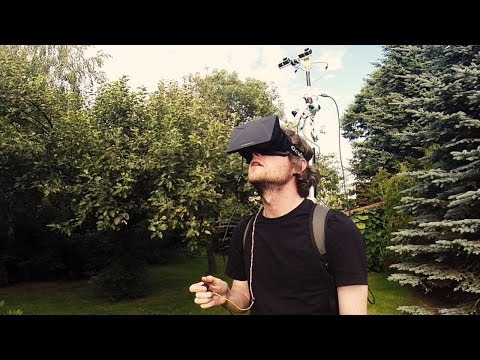 Real World Third Person Perspective VR / AR Experiment