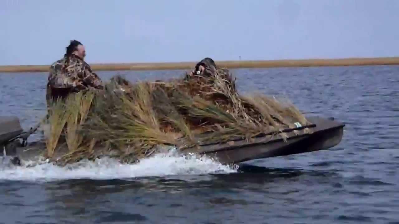 Duck Boat Duck Boss Boats 15ft Duck Hunting Boat Youtube