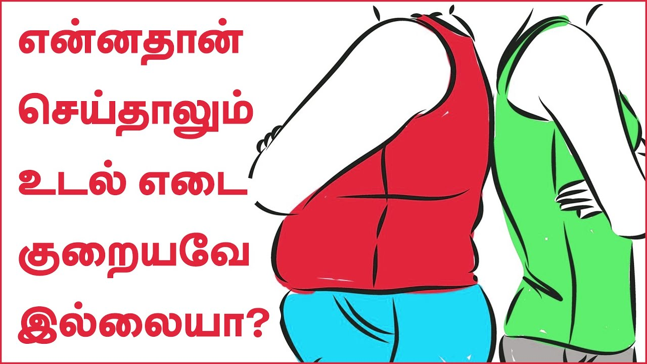 Weight Loss Tips in Tamil | Simple Ways to Lose a Little Weight