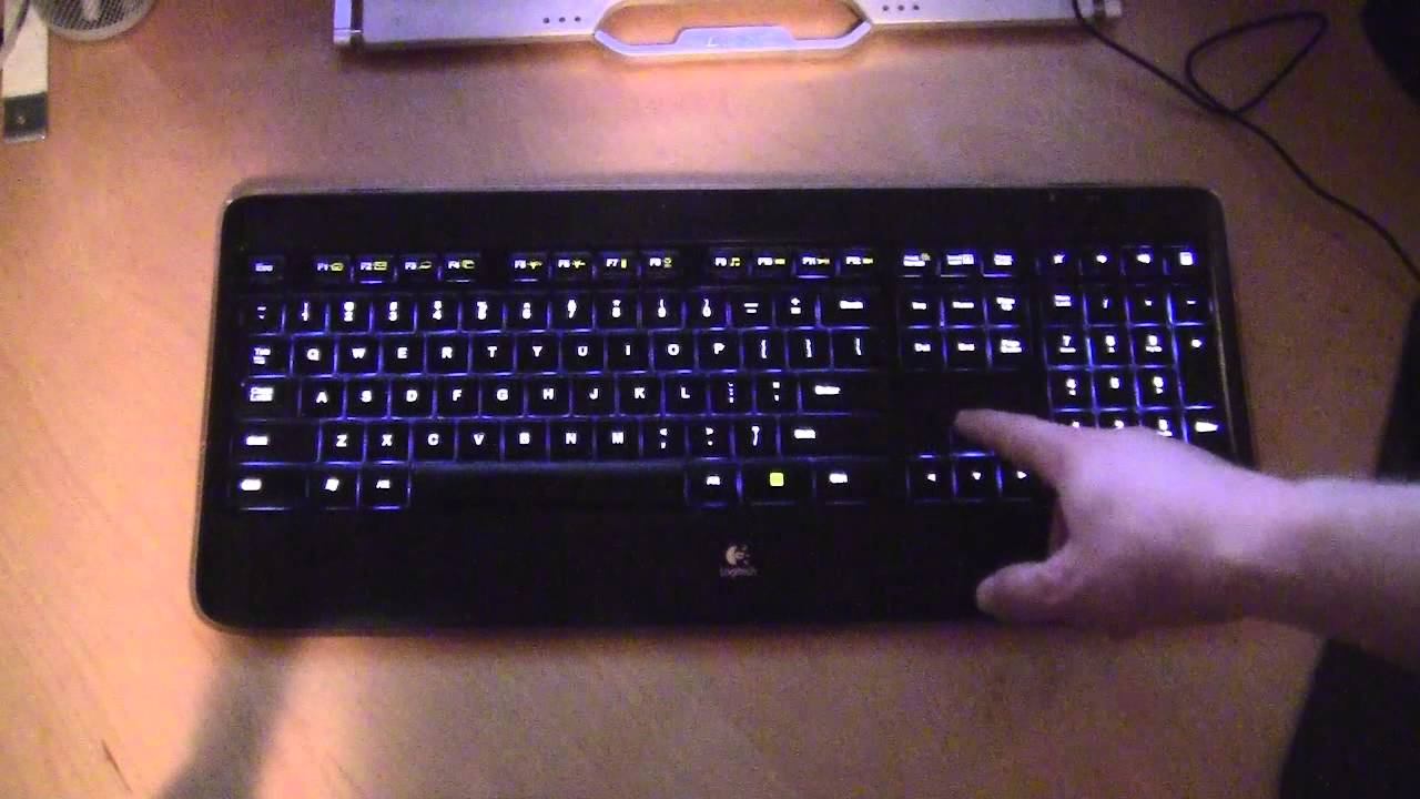 Logitech K Change Light Color