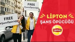 Bu defa da #sansopucugu Lipton'dan! =) (Free Hugs Lipton Turkiye)
