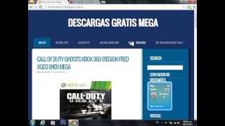 Descargar Call Of Duty Ghost Para Ps3 Y Xbox 360 Español