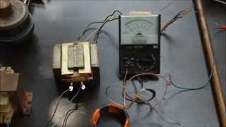Transformer Demo (hands-on Experiments, Induction, Lenz