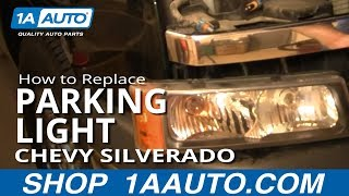 How To Install Replace Front Signal Marker Running Light
