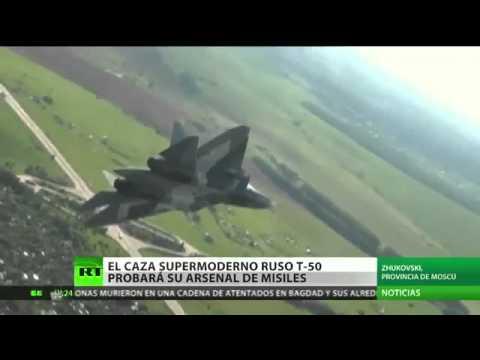 El avion mas avanzado del mundo - CAZA RUSO T-50 PAK FA - 2014