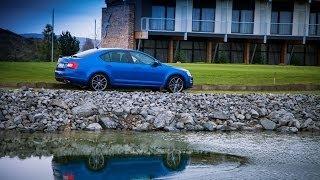 Тест-драйв, обзор новой Skoda Octavia RS (New)