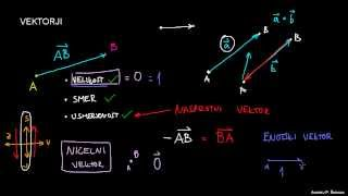 Ničelni in enotski vektor