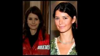 Turkish actresses with and without make-up💄