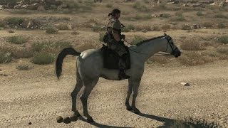 Metal Gear Solid V: The Phantom Pain - Giving the horse instructions