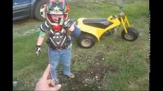 Kids Dirt Bike Tag