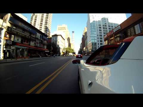Hình ảnh trong video Ferrari 458 Spider driving in New York