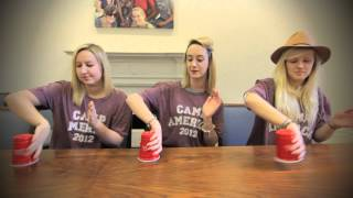 Camp America Does The Cup Song!