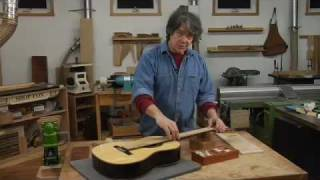 Watch the Trade Secrets Video, Making a Concert Classical Guitar