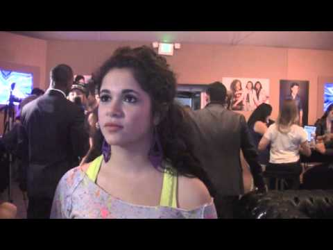 'X Factor' - Khaya Cohen-  Backstage Interview (11-13-13)