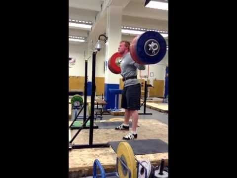 Jared Fleming 270kg (594lbs) Back Squat x3