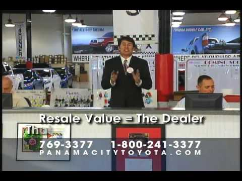 Panama City Toyota - Resale Value