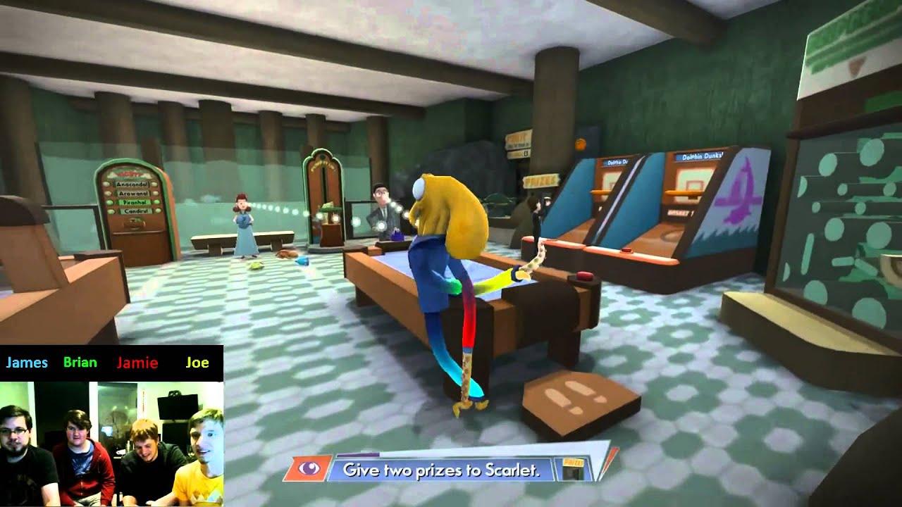 Octodad Dadliest Catch 4 Player Co Op Part 4 Aquariums