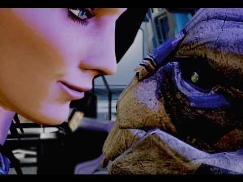 Garrus New Romance Scene (new animations)