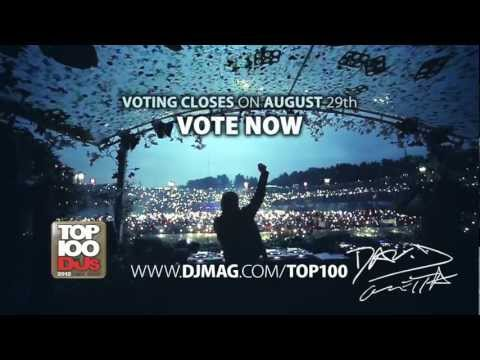 VOTE David Guetta @ DJ Mag TOP100 Djs