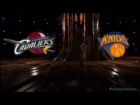 NBA Cleveland Cavaliers vs New York Knicks - 1st Qrt - NBA Live 14 PS4 - HD