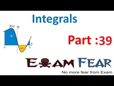 Maths Integrals part 39 (Integral as area function) CBSE class 12 Mathematics XII