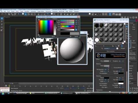 Học 3d max - Hướng dẫn thiết lập ánh sáng trong cảnh nội thất