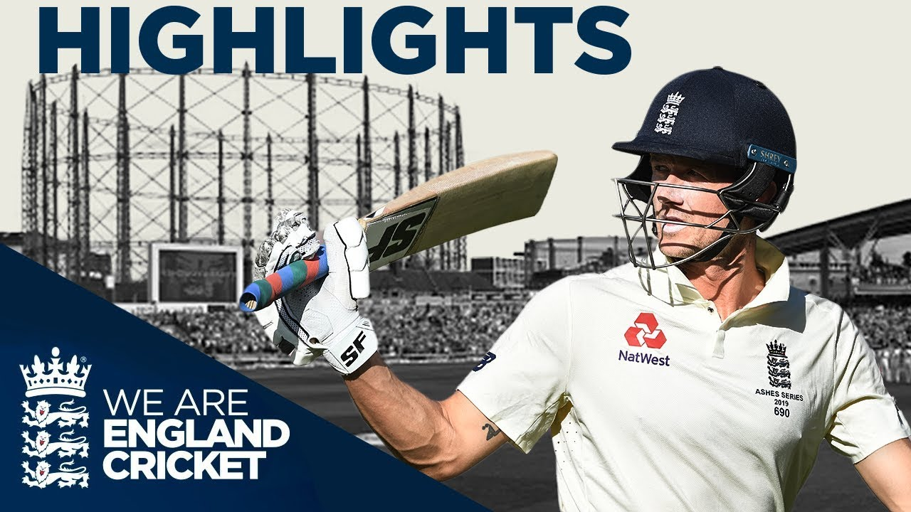 Highlights - Denly Puts England In Control - The Ashes Day 3 -  Fifth Specsavers Ashes Test 2019
