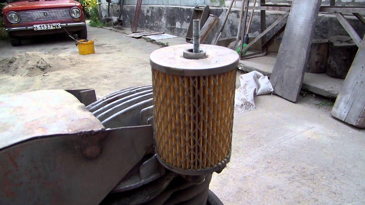 Фильтр для очистки воздуха для компрессора своими руками