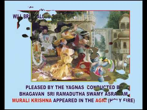 Miracles of God - Lord Krishna's appearance in Bhagavan Sri Ramadutha Swamy Asramam Homams