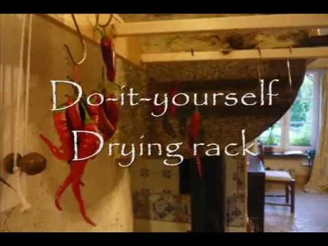 Low Cost Home Made Wooden Pulley Drying Rack Bricolez