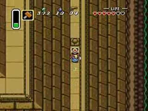 Zelda Link to the Past Changes from SNES to GBA part 2
