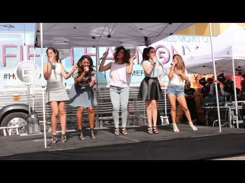 Dont Wanna Dance Alone - Fifth Harmony (8.9.13, La Cantera, San Antonio)