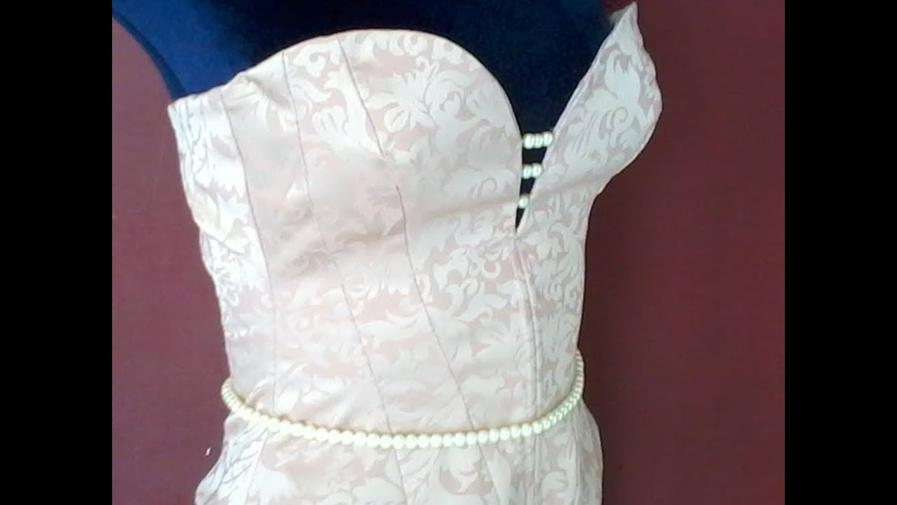 how to make a diy corset