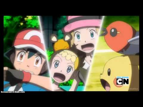 Pokemon X/Y episode 9/809 part 1/2