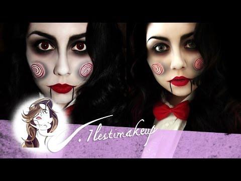 Hallowen Maquillaje - Magazine cover