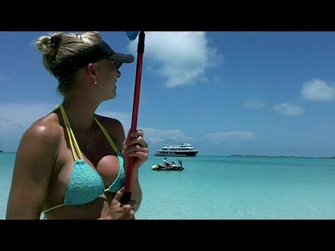 Miami to Exuma Bahamas on Sea-Doos Part VII:  Homeless in the Bahamas