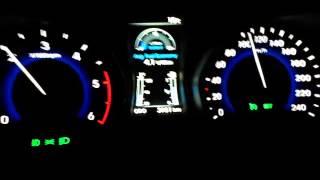 Hyundai i30 Crdi 105 Km/h hızda Yakıt Tüketimi Testi