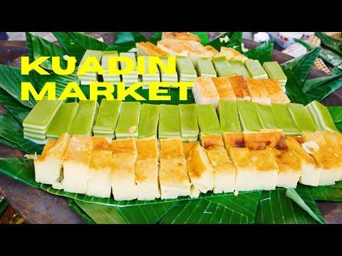 Food Alley Kuadin Market, Vientiane, Laos