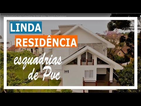 Linda Residência com Esquadrias de PVC Weiku - Imagem Arquitetura