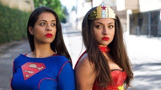 "Wonder Woman vs. Superwoman | Inanna Sarkis & Lilly ""IISuperwomanII"" Singh"