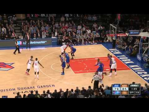 Philadelphia 76ers vs New York Knicks | March 10, 2014 | NBA 2013-14 Season