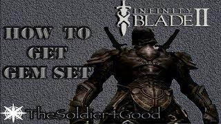 Infinity Blade 2 How To Get The Gem Set (Negative Rebirths