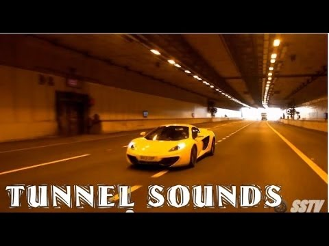 My First Supercar: EPIC TUNNEL SOUNDS!
