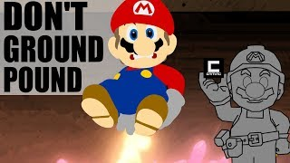 """3 Designs for """"Don't Ground Pound"""" Levels in Super Mario Maker."""