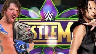 Why Nakamura vs Styles Should Headline WrestleMania 34