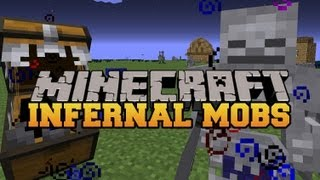 Minecraft : RARE POWERFUL MOBS (MOBS HAVE EPIC EFFECTS AND