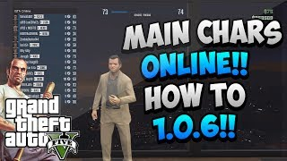 *NEW* GTA 5 Online Glitch: How To Play As The 3 Main
