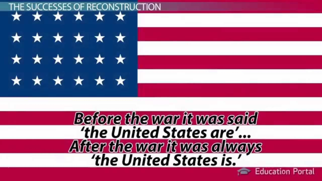 the success and failure of reconstruction Was american reconstruction a failure update cancel answer wiki 7 answers  was the reconstruction period a failure, success, or something in between.